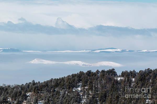 Photograph - Foggy Sangre De Cristo Mountain Valley by Steve Krull