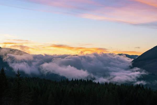 Photograph - Foggy Valley by Steven Clark