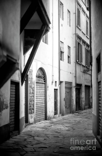 Photograph - Follow The Light In Florence by John Rizzuto