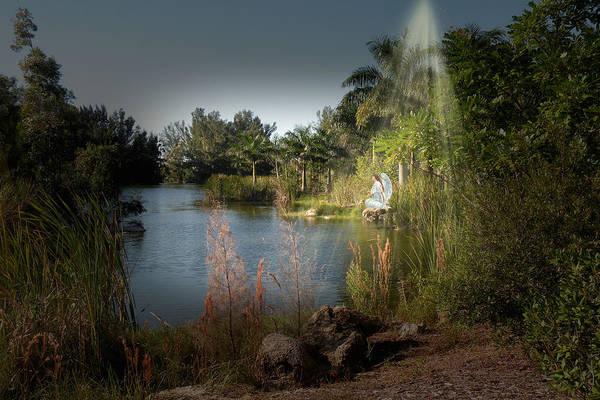 Mixed Media - Follow The Light by Rosalie Scanlon