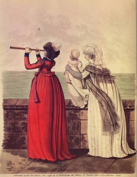 18th Century Digital Art - Followers Of Fashion by Hulton Archive