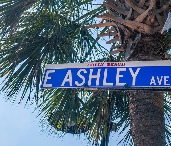 Wall Art - Photograph - Folly Beach Ashley Ave by Dan Sproul