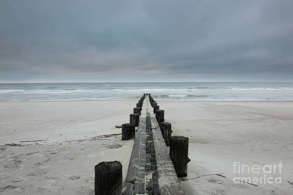 Photograph - Folly Beach - Edge Of America In Charleston South Carolina by Dale Powell