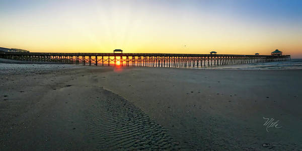 Photograph - Folly Beach Pier by Meta Gatschenberger