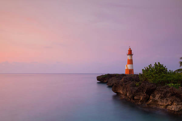 Jamaica Photograph - Folly Point Lighthouse, Port Antonio by Douglas Pearson