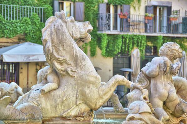Photograph - Fontana Dei Calderari by JAMART Photography