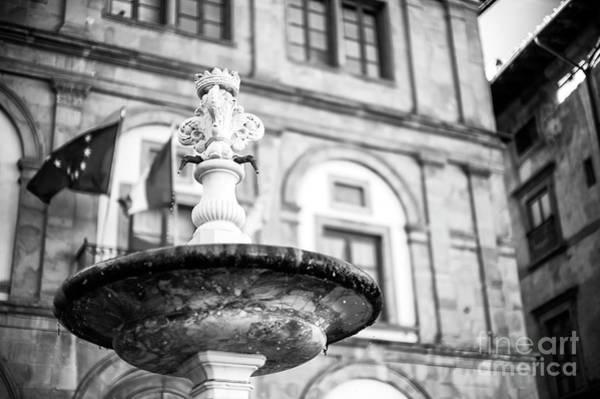 Photograph - Fontana Di Piazza Santa Croce In Florence by John Rizzuto