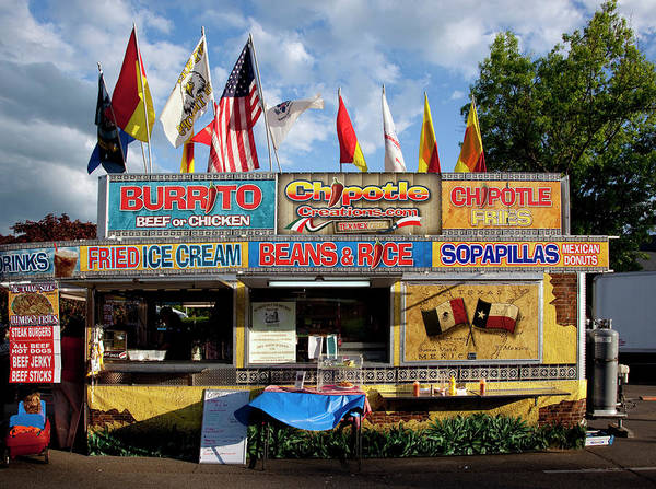 Merchandise Photograph - Food At The Panoply Arts Festival by Buyenlarge
