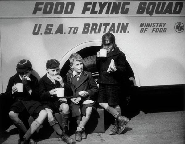 Service Photograph - Food Flying Squad by Fox Photos