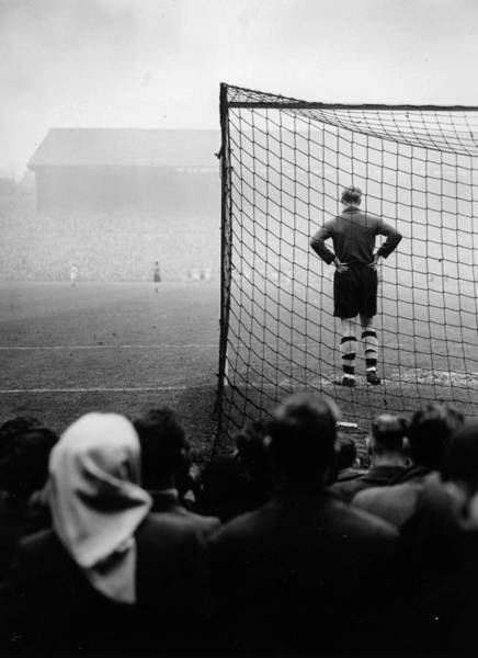 Rear View Photograph - Football. 1950. Wolverhampton by Popperfoto