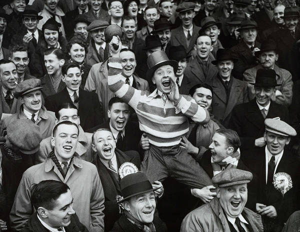 Photograph - Football, 8th January 1938, Highbury by Popperfoto