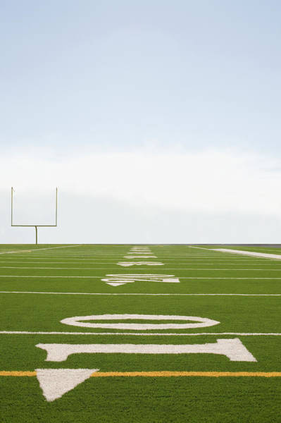 Viewpoint Photograph - Football Field by Tetra Images - David Engelhardt