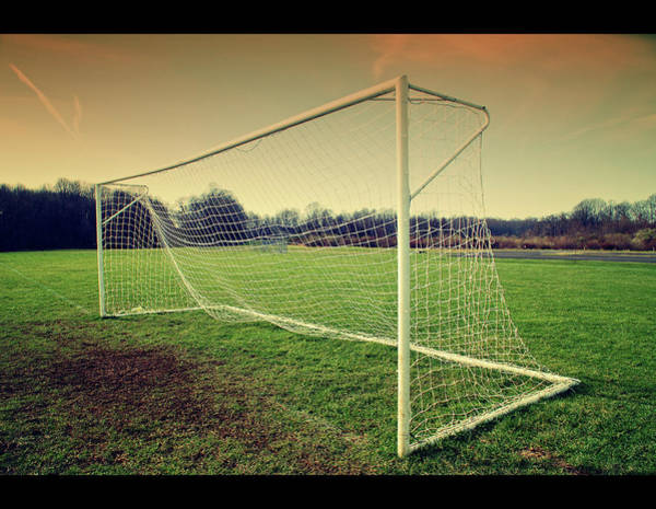 Photograph - Football Goal by Federico Scotto