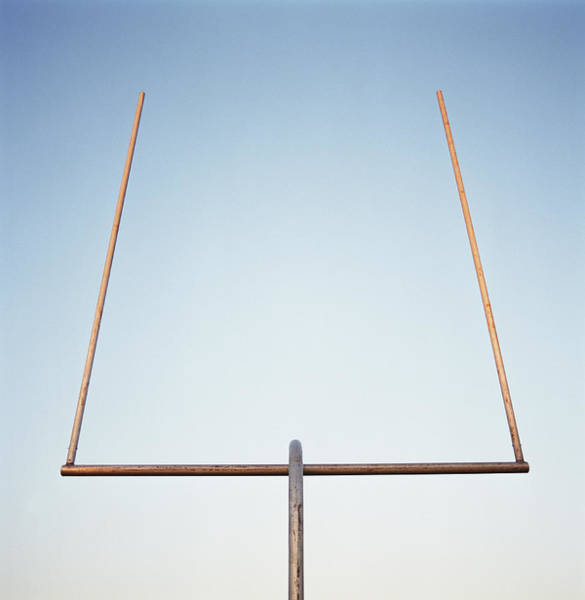 Wall Art - Photograph - Football Goal Post by Mike Powell