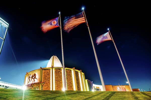 Ohio Stadium Wall Art - Photograph - Football Hall Of Fame - Canton Ohio by Gregory Ballos