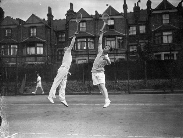 Court Photograph - Footballers Tennis by Davies
