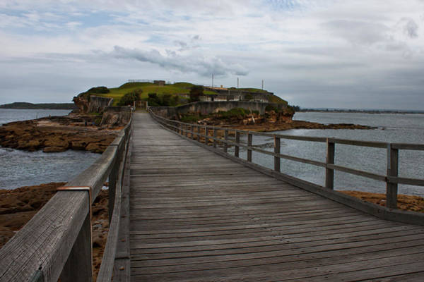 Wall Art - Photograph - Footbridge To Bare Island by Miroslava Jurcik