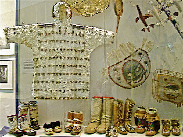 University Of Alaska Photograph - Footwear And Clothing For Icy Weather In University Of Alaska  Museum Of The North In Fairbanks, Ak by Ruth Hager