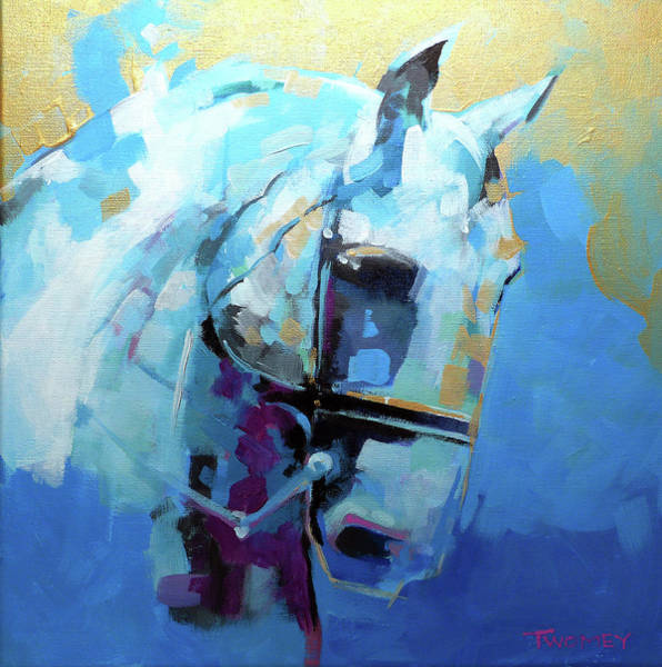Dressage Painting - For The Love Of Horses, Lippizan 1.0 by Catherine Twomey