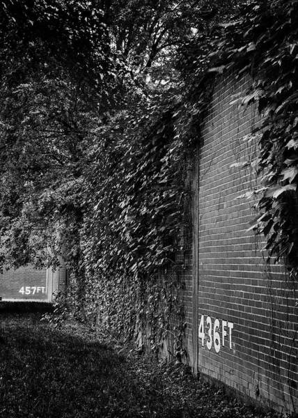 Wall Art - Photograph - Forbes Field Wall by Stephen Stookey
