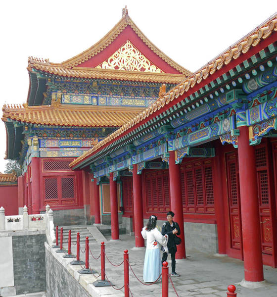 Wall Art - Photograph - Forbidden City 40 by Ron Kandt
