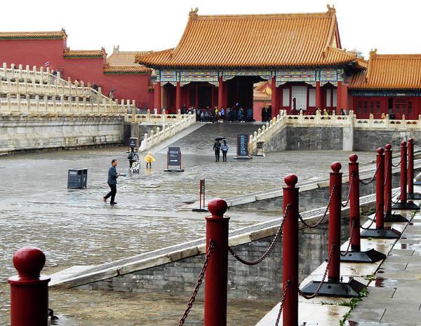 Wall Art - Photograph - Forbidden City 57 by Ron Kandt