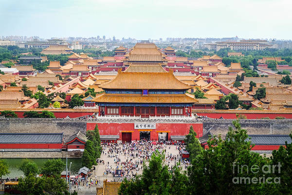 Photograph - Forbidden City by Iryna Liveoak