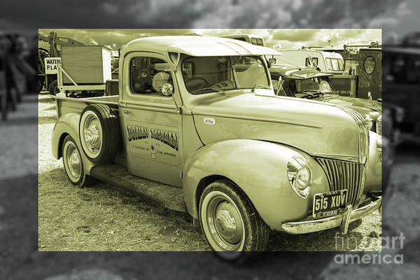 Ford Van Photograph - Ford 1941 Pickup  by Rob Hawkins