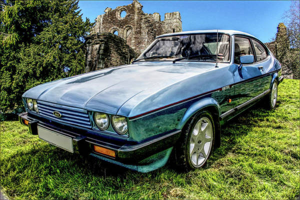 Digital Art - Ford Capri 3.8i by Peter Leech