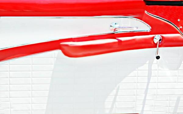 Wall Art - Photograph - Ford Handle Bar by Diana Angstadt