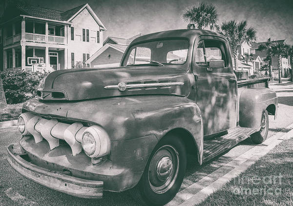 Photograph - Ford F1 - Vintage by Dale Powell