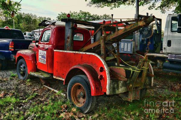 Wall Art - Photograph - Ford F4 Tow The Truck Business End by Paul Ward
