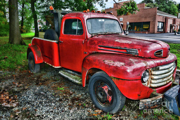 Wall Art - Photograph - Ford F4 Tow The Truck Hook And Book by Paul Ward