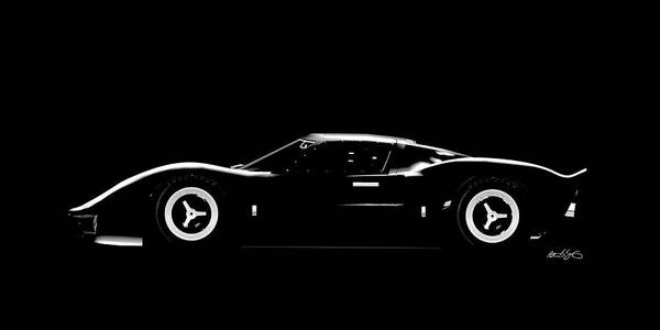 Digital Art - Ford F40 by Peter J Sucy