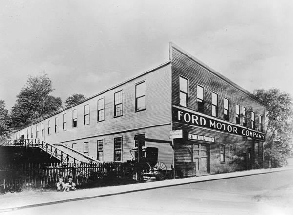 Merchandise Photograph - Ford Factory by Keystone Features