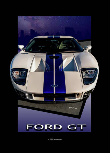 Photograph - Ford Gt - City Escape by Steven Milner