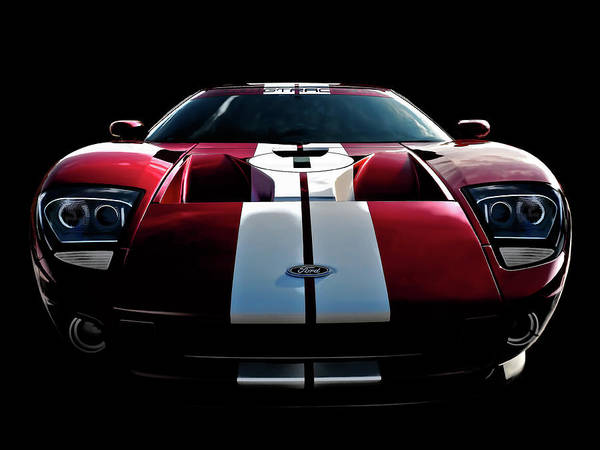 Collector Digital Art - Ford Gt by Douglas Pittman