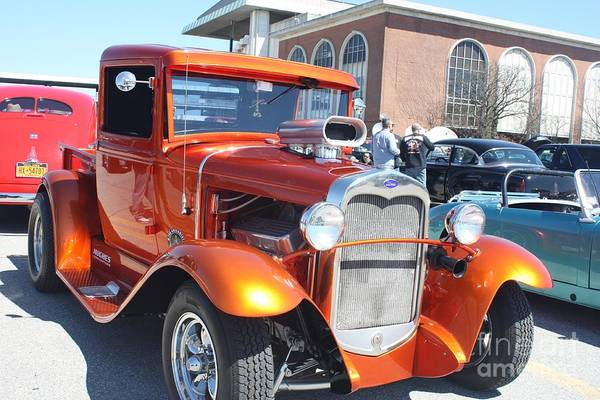 Wall Art - Photograph - 1930 Ford Low Rider Muscle Truck by John Telfer