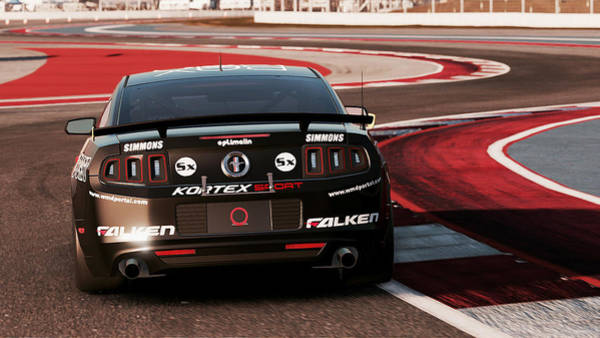 Photograph - Ford Mustang Boss 302r1 - 07 by Andrea Mazzocchetti