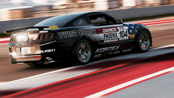 Photograph - Ford Mustang Boss 302r1 - 08 by Andrea Mazzocchetti