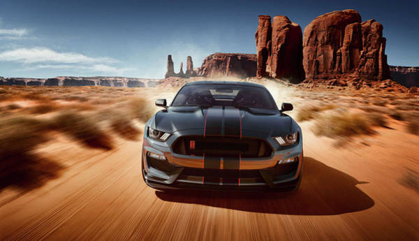 Photograph - Ford Mustang Shelby G T 350 by Movie Poster Prints