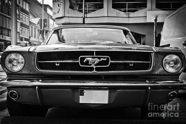 Photograph - Ford Mustang Vintage 1 by Jesse Watrous