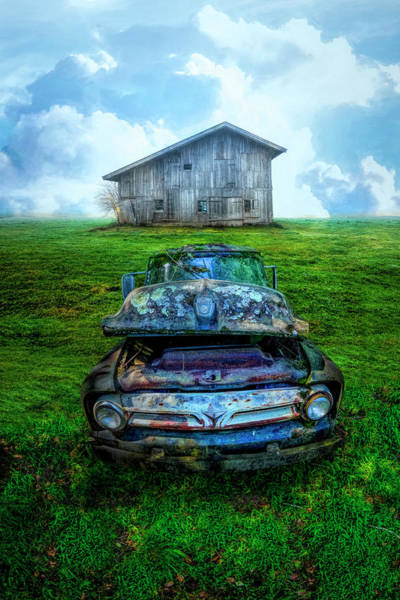 Photograph - Ford Pickup In The Country by Debra and Dave Vanderlaan