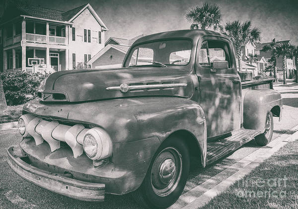 Photograph - Ford Work Truck by Dale Powell