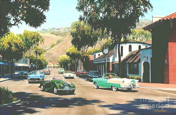 Laguna Beach Painting - Forest Avenue At Glennerye by Frank Dalton