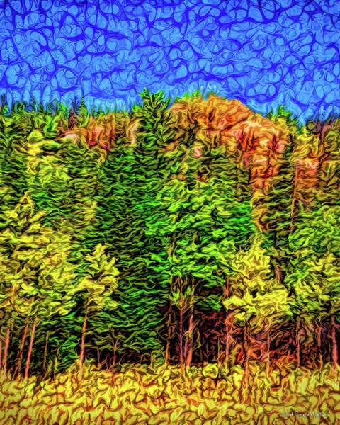 Digital Art - Forest Canyon Morning by Joel Bruce Wallach