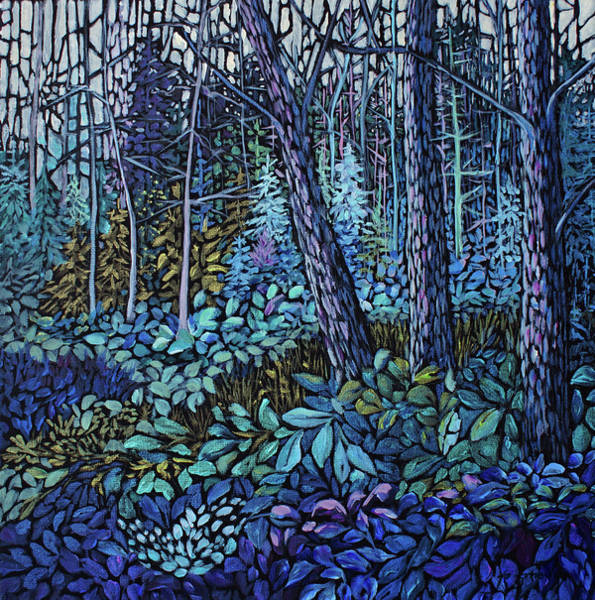 Painting - Forest In Colour Series 4 by Joanne Smoley