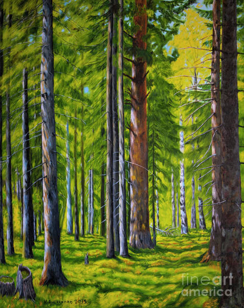 Wall Art - Painting - Forest by Veikko Suikkanen