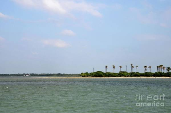 Photograph - Forested Tropical Beach With Coral And Blue Sky Jaffna Peninsula Sri Lanka by Imran Ahmed