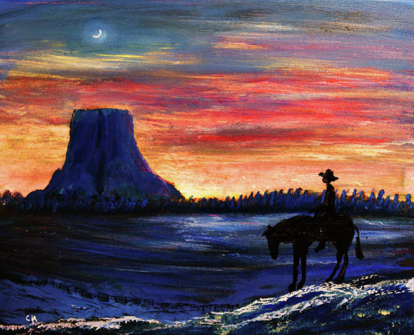 Painting - Forever West by Chance Kafka